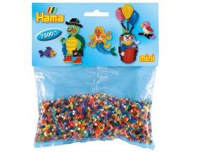 Hama 583 - zažehlovací korálky Mini - mix barev, 7 500 ks