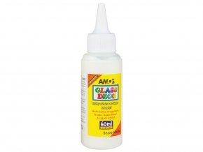 Amos 1503 Slupovací barva na sklo - bílá