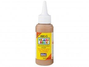 Amos 1503 Slupovací barva na sklo - hnědá