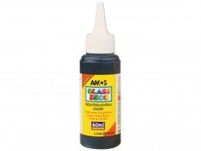 Amos 1505 Kontura k barvám na sklo - černá
