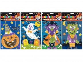 Anděl 1691 - Mozaika Halloween 23x16 cm