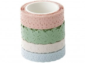 Folia 29401 - Washi bordury z rýžového papíru - 4 motivy