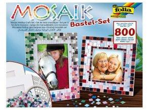Folia 57019 - Sada na výrobu rámečků z mozaiky - 800 dílů