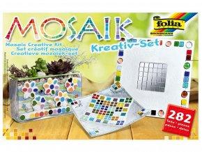 Folia 575720 - Mozaikové kamínky - kreativní sada, 282 dílů