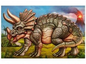 Anděl 6625 - Samolepicí skládačka Triceratops 14x25 cm