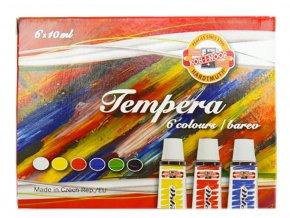 Kohinoor 1625S06 Temperové barvy 10 ml, 6 ks