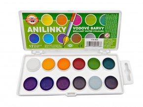 Kohinoor 174503 Barvy vodové brilantní