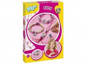 Totum 029606 - Kreativní sada Kitty - korálkové náramky