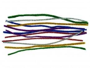 Anděl 6709 - Modelovací drátky žinylky, mix barev, 12 ks