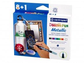 Centropen 2737 - Speciální značkovače Decor pen Metallic