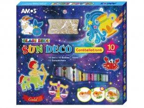 Amos 6419 - Sada Barvy na sklo + sklíčka Zvěrokruh
