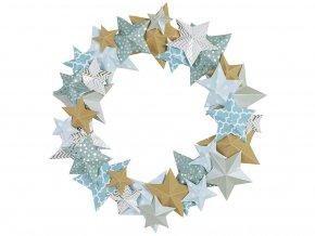 Folia 40129 - Věnec s hvězdami - kreativní sada