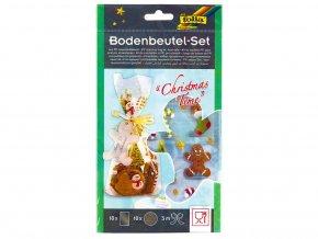 Folia 46205 - Dekorativní sada - sáčky +  doplňky - Vánoce