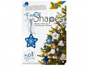 Folia 25039 - Papírové vánoční dekorativní ozdoby - 508 dílů