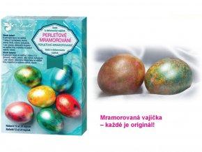 Anděl Přerov 7700 - Sada k dekorování vajíček - Perleťový mramor