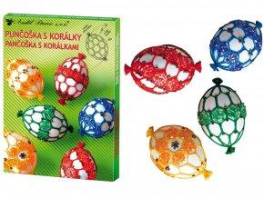 Anděl Přerov 7726 - Sada k dekorování vajíček - punčoška s korálky