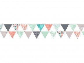 Folia 26066 - Washi Tape - dekorační lepicí páska - Trojúhelníky