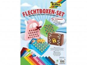 Folia 70290 - Proplétání papíru - Krabičky, 10 ks