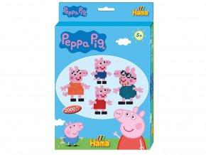 Hama 7965 Dárkový box Peppa Pig - zažehlovací korálky MIDI