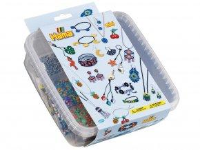 HAMA MINI 5403 - zažehlovací korálky a podložky v boxu