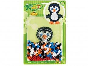 HAMA MAXI 8938 - zažehlovací korálky - set Tučňák