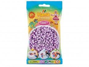 HAMA MIDI 207-96 zažehlovací korálky světle pastelově fialové