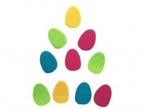 BD TOVA - výseky vajíček z plsti, 10 ks