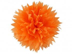 Folia 90018 - Hedvábný papír 50 x 70 cm, oranžový