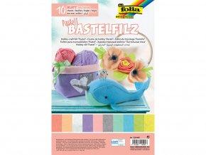 Folia 520495 - Dekorační filc - pastelové barvy