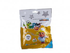 Jumping Clay B1 - 50 g - žlutá