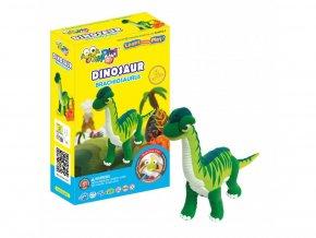 C2-2 Jumping clay modelína - dinosaurus Brachiosaurus