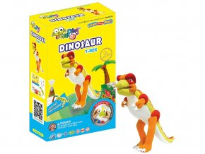 C2-4 Jumping clay modelína - dinosaurus Tyrannosaurus