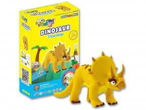 C2-5 Jumping clay modelína - dinosaurus Triceratops