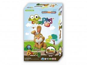 C26-5 Jumping clay modelína - králíček