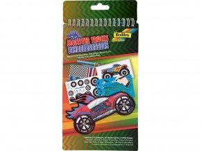 Folia 41104 - Kniha se šablonami - Monster truck