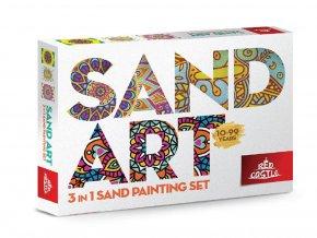 Red Castle 35400-02 Pískování obrázků SAND ART - Mandaly