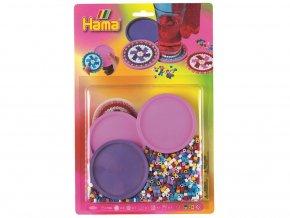 HAMA 4156 - Korálkový set podšálky kulaté - zažehlovací korálky MIDI