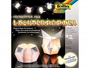 Folia 42300 Papír pro výrobu lucerniček, bílý
