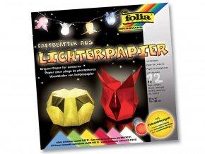 Folia 42309 Papír pro výrobu lucerniček, barevný