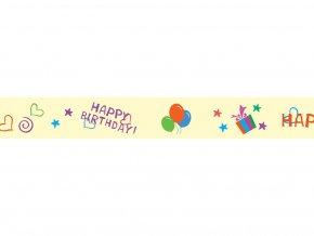 Folia 26036 - Washi Tape - dekorační lepicí páska - Party