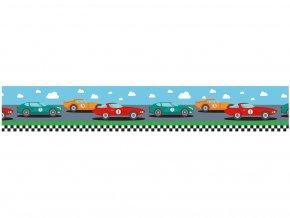 Ursus 5909/22 - Washi Tape - dekorační lepicí páska - Závodní auta