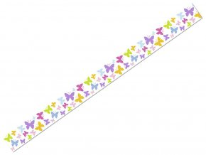 Ursus 5905/53 - Washi Tape - dekorační lepicí páska - Motýlci