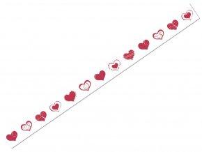 Ursus 5905/40 - Washi Tape - dekorační lepicí páska - Srdce