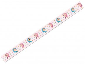 Ursus 5905/164 - Washi Tape - dekorační lepicí páska - Jednorožec