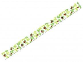 Ursus 5905/130 - Washi Tape - dekorační lepicí páska - Čtyřlístky