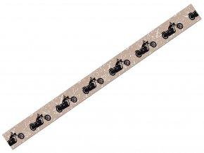 Ursus 5905/101 - Washi Tape - dekorační lepicí páska - Motorka