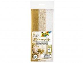 Folia 90602 - Hedvábný papír, 50x70 cm, mix zlaté