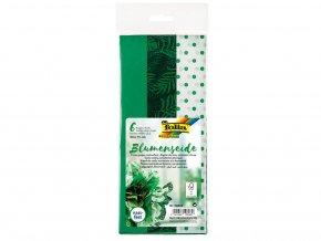 Folia 90603 - Hedvábný papír, 50x70 cm, mix zelené