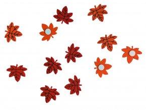 Anděl 7074 - Filcové listy samolepicí, 12 ks, 3,5 cm