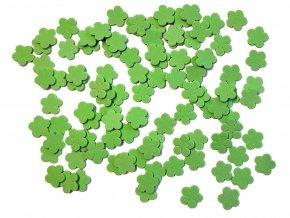 BD TOVA 99035 - výseky z pěnovky zelené kytky, 100 ks